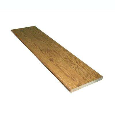 1 in. x 11.5 in. x 60 in. Prefinished Marsh Red Oak Box Tread