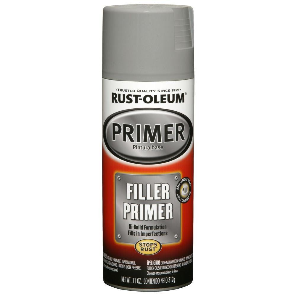 Rust-Oleum Automotive 11 oz. Gray Filler Primer Spray