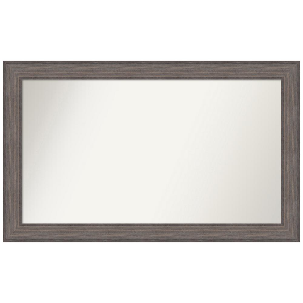Amanti Art Choose Your Custom Size 46.25 in. x 28.25 in. Country Barnwood Decorative Wall Mirror was $489.3 now $254.92 (48.0% off)