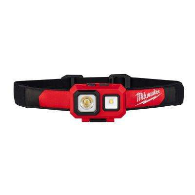 450 Lumens LED Spot/Flood Headlamp