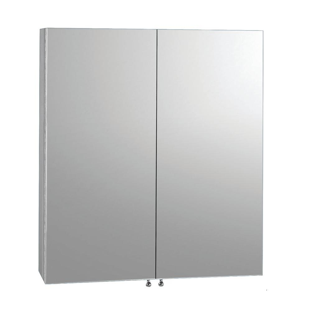Catalonia Architectural 23-3/5 in. W x 26 in. H Frameless Stainless