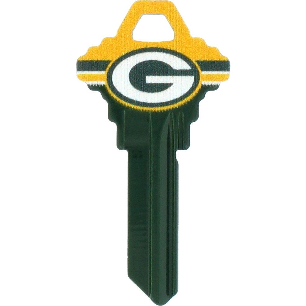The Hillman Group 68 Green Bay Packers House Key