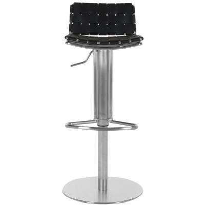 Floyd Adjustable Height Stainless Steel Bar Stool