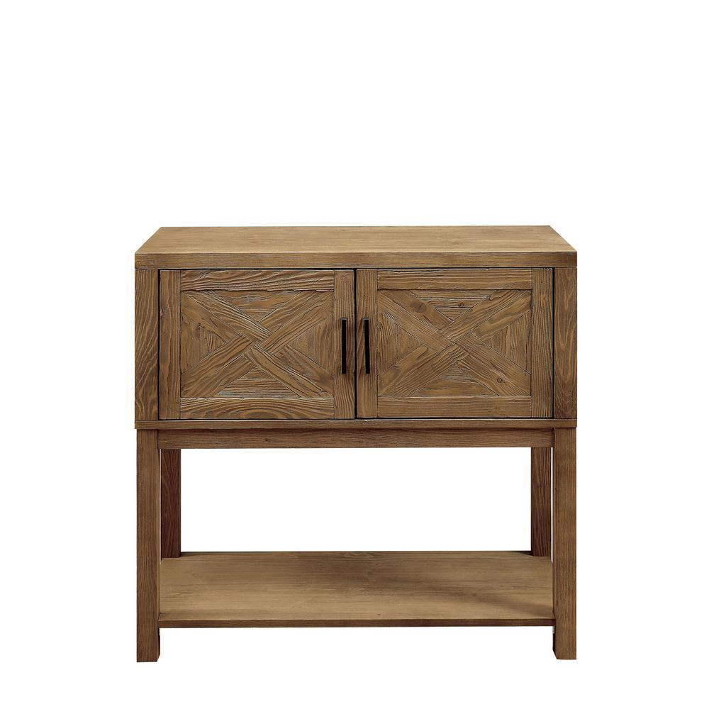 exciting hall cabinets furniture | Furniture of America Susan Natural Tone Hallway Cabinet ...
