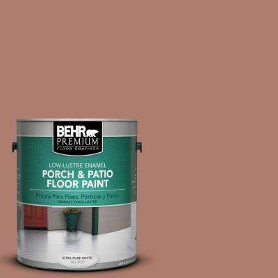 1 gal. #PPU2-11 Mars Red Low-Lustre Porch and Patio Floor Paint