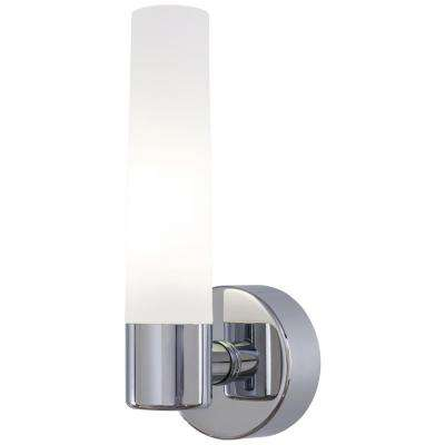 Saber 1-Light Chrome Wall Sconce
