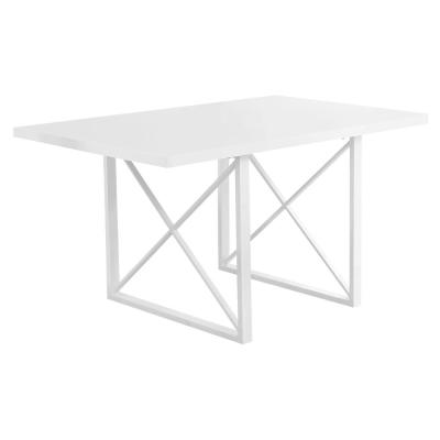 Glossy White Dining Table