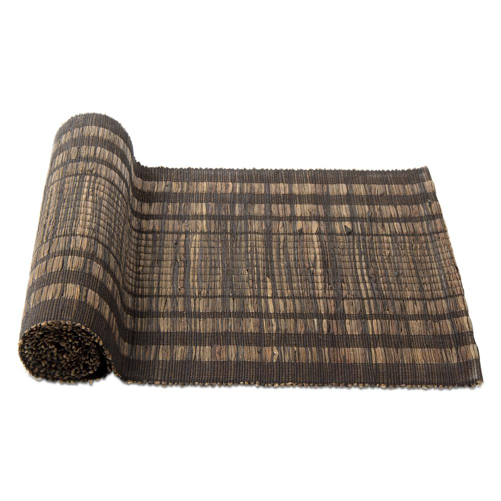 Attrayant Tag Karma Brown Water Hyacinth Table Runner