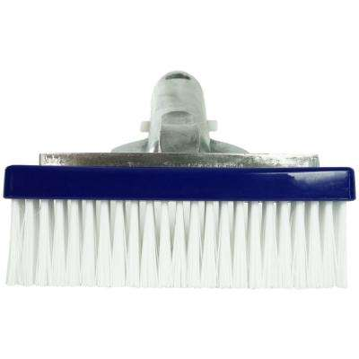 5.5 in.  Swimming Pool Bristle Brush Head with Aluminum Handle
