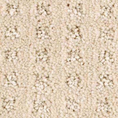Carpet Sample - Canter - Color Gilded Textured 8 in. x 8 in.