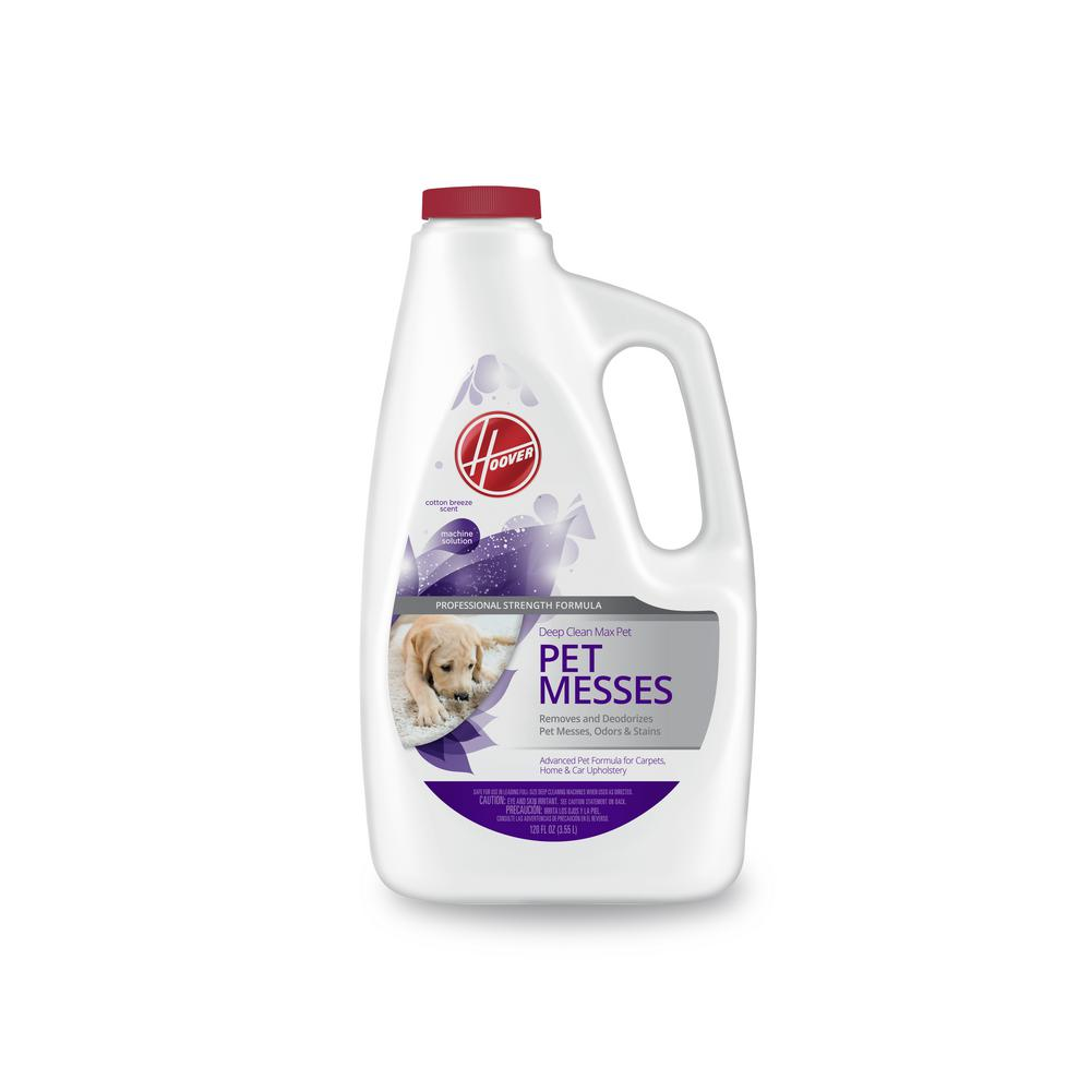 120 Oz. Deep Clean Max Pet- Pet Messes Carpet Cleaning Solution