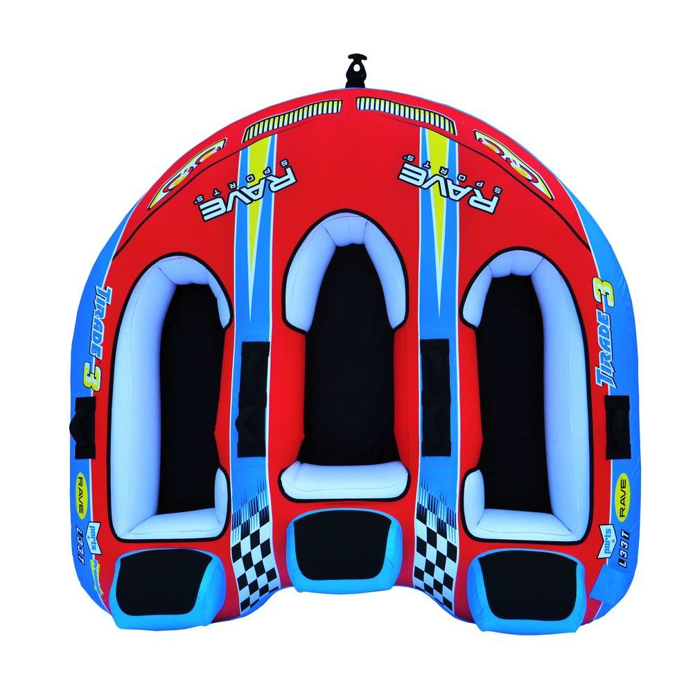Rave Sports Tirade III 82 in. x 83 in. Inflatable Boat To...