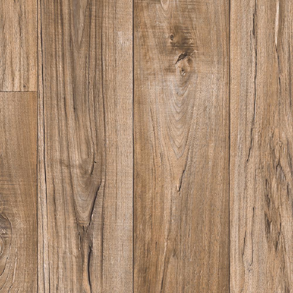 Take Home Sample - Aged Nickel Residential Sheet Vinyl Flooring - 6 in. x 9 in.