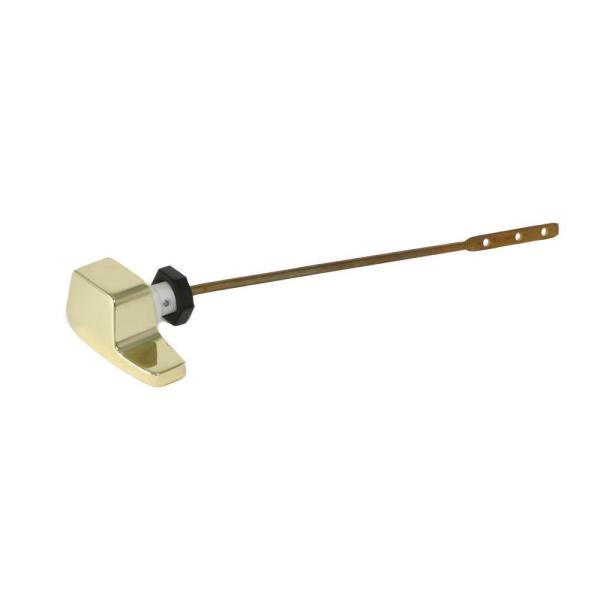 Side Mount Toilet Tank Lever for Eljer in Polished Brass