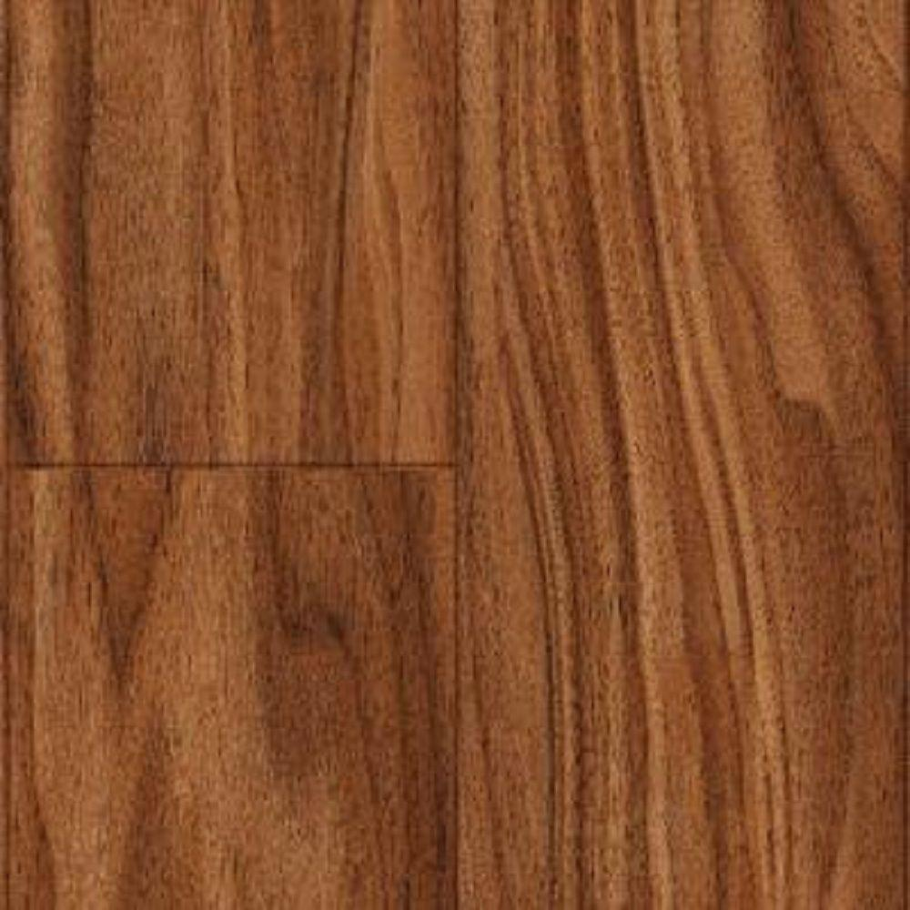 Trafficmaster Kane Creek Walnut Laminate Flooring 5 In