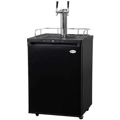 Full Size Digital Beer Keg Dispenser with Double Tap