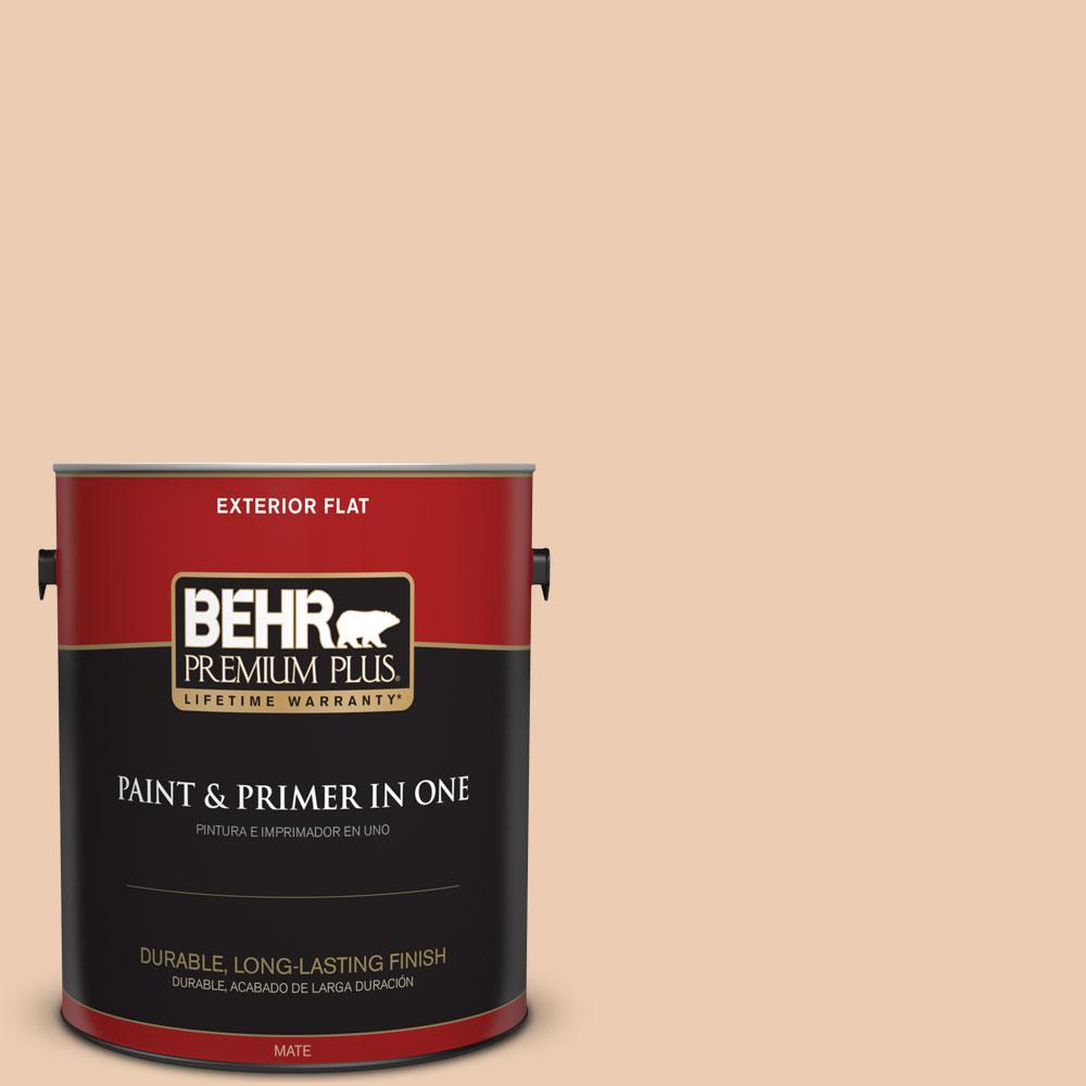 BEHR Premium Plus 1-gal. #270E-2 Sandpoint Flat Exterior Paint