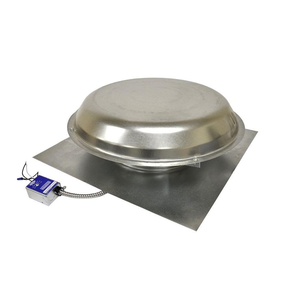 Power Roof Ventilators : Master flow cfm power roof mount vent in mill pr d
