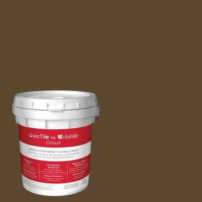 QuicTile D283 Pewter Brown 9 lb. Pre-Mixed Urethane Grout