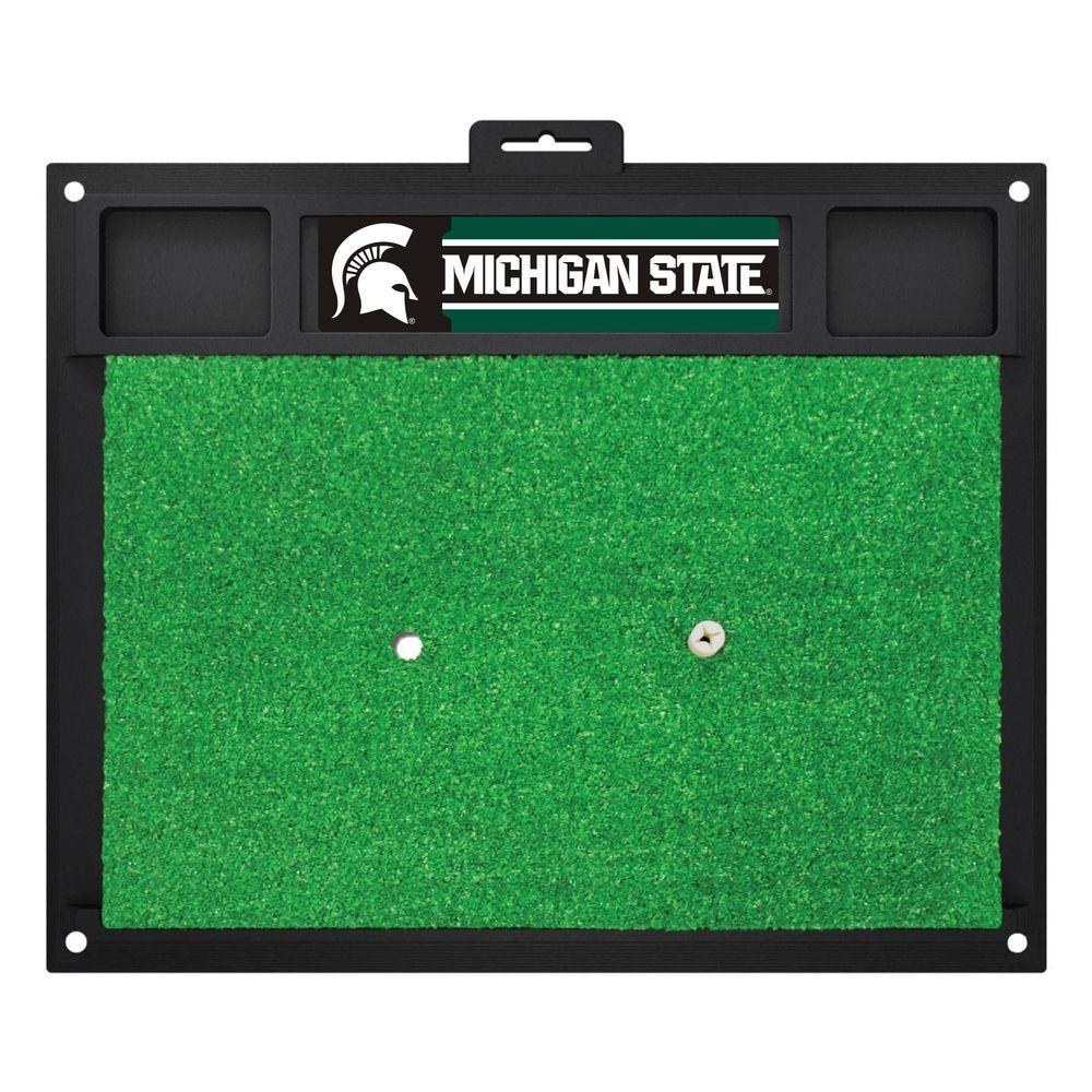 NCAA Michigan State University 17 in. x 20 in. Golf Hitting