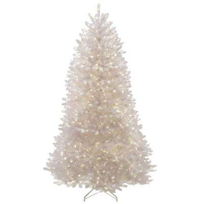 75 ft pre lit christmas trees artificial christmas trees the home depot - 75 White Christmas Tree