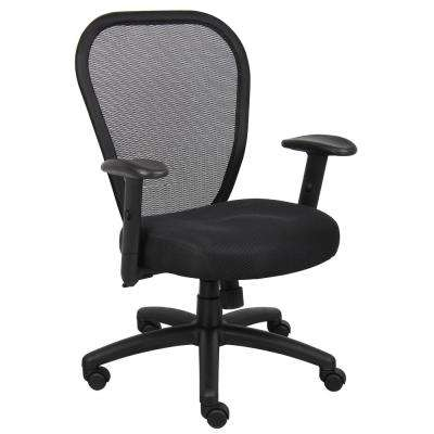 Black Professional Managers Mesh Chair
