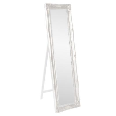 66 in. x 18 in. White Standing Mirror