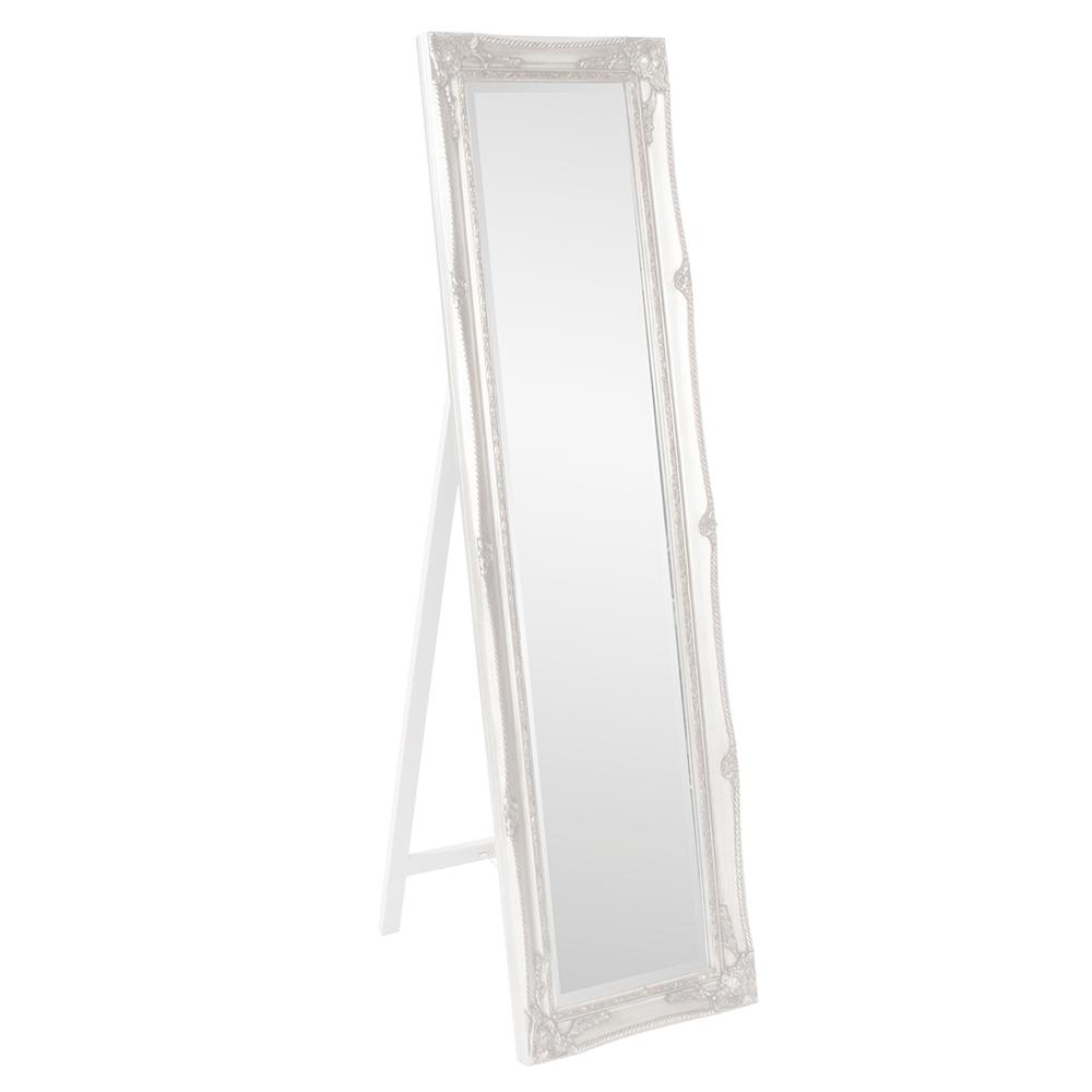 The howard elliott collection 66 in x 18 in white for White long standing mirror