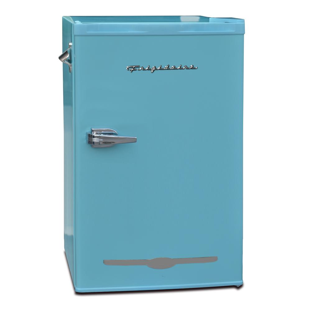 Frigidaire 3.2 cu. ft. Retro Mini Fridge in Blue