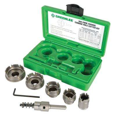 7/8 in. to 2 in. Quick Change Carbide Tipped Hole Saw Kit