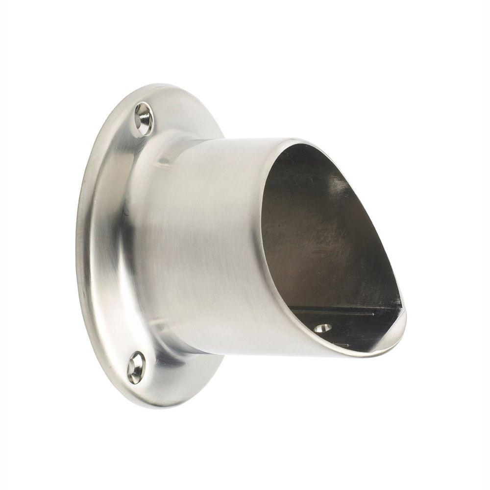 Gourmet Brushed Nickel Wall Connector