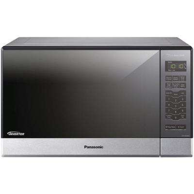1.2 cu. ft. Countertop Microwave Oven in Stainless Steel Built-In Capable with Sensor Cooking Technology