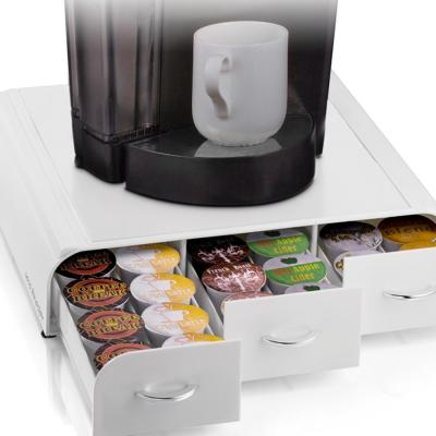 Anchor 36-Capacity White K-Cup Storage Drawer
