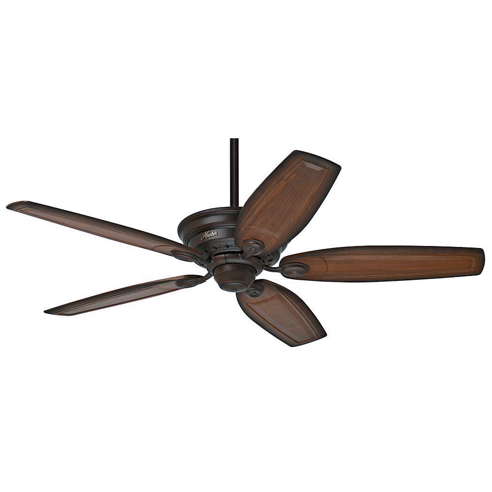 Bingham 52 in. Indoor Cocoa Bronze Ceiling Fan