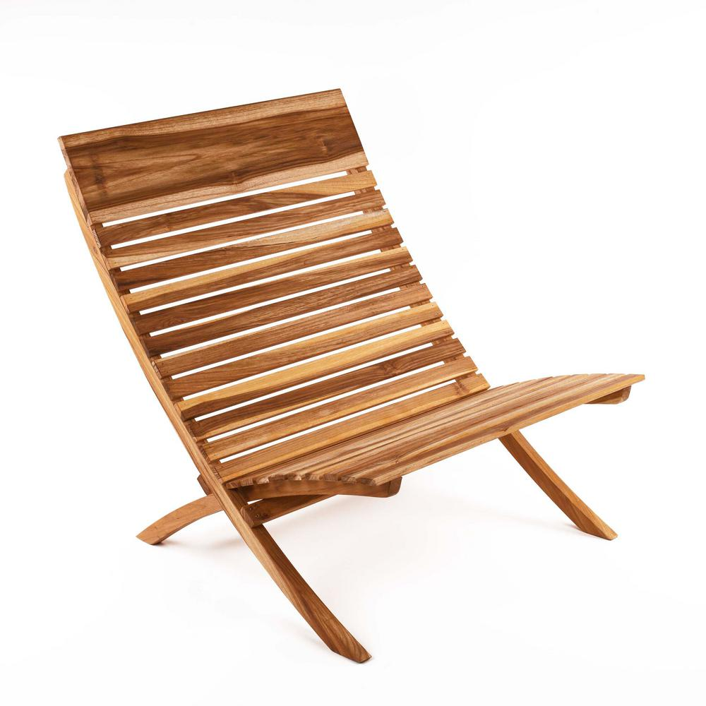 Incredible Barcelona Natural Teak Wood Lounge Chair Evergreenethics Interior Chair Design Evergreenethicsorg
