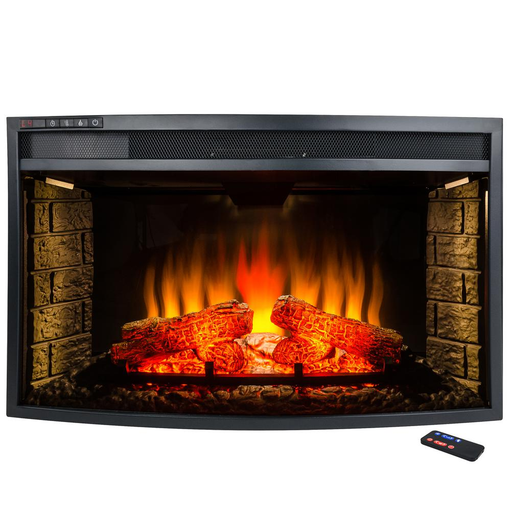 glass electric fireplace laboratorioc3masd co