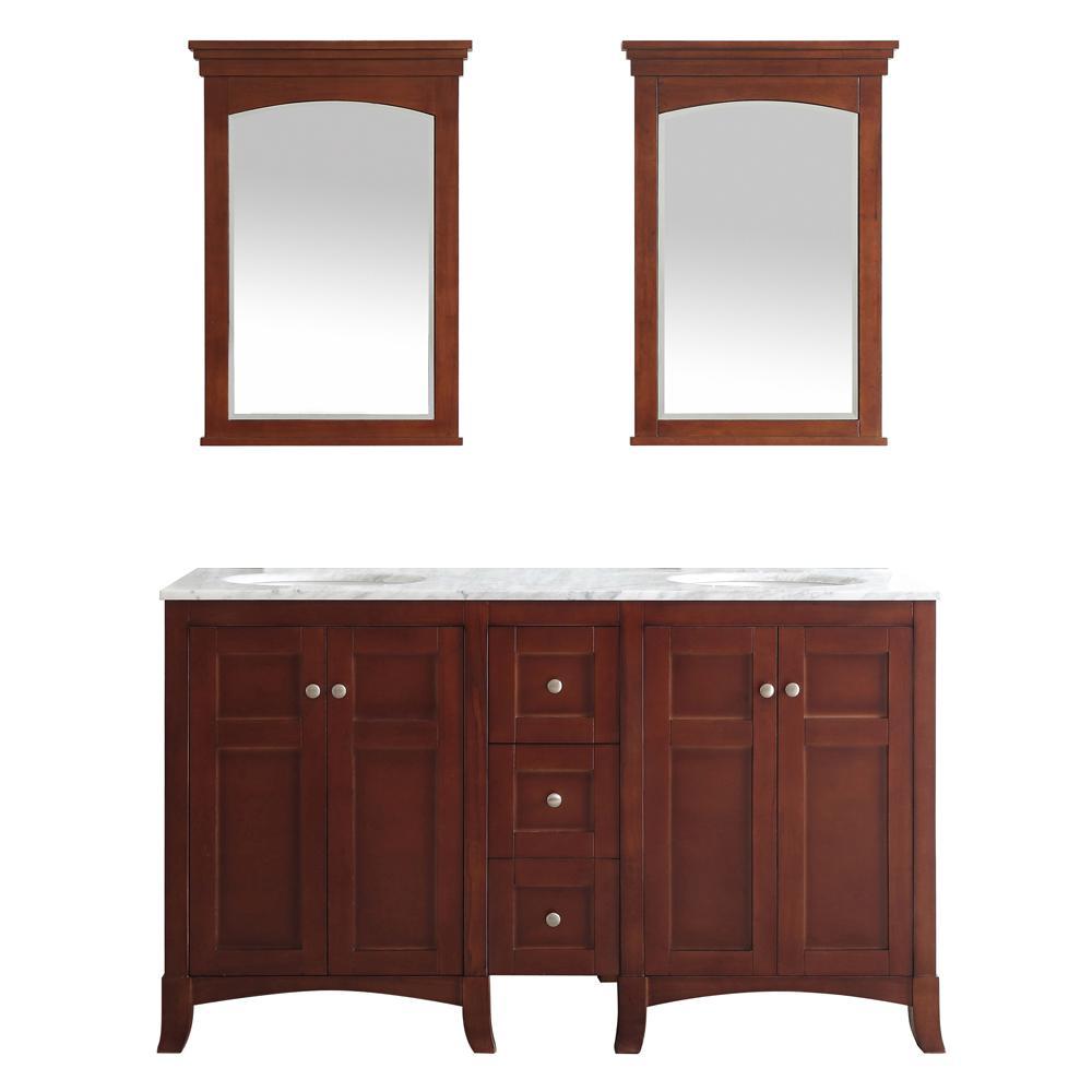 vanity mirror 36 x 60. Vinnova Arezzo 60 in W x 22 D 36 HVinnova  H Vanity Cherry Mirror X Bathroom Source lighted vanity