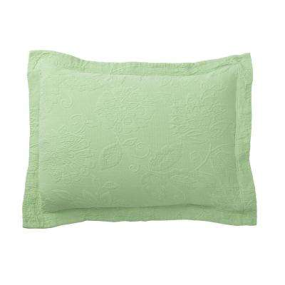 Putnam Matelasse Palm Pillow Cover