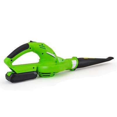 18-Volt Electric Leaf Blower Cordless Power Blower with Built-in Rechargeable Battery