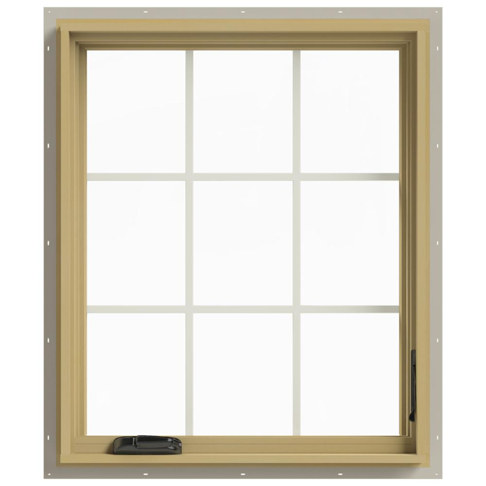 Jeld wen 30 in x 36 in w 2500 right hand casement for Buy jeld wen windows online