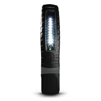 Rechargeable 360-Degree Pro Work Light and Torch, Black