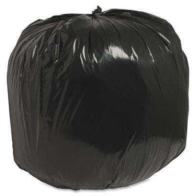 45 Gal. 40 in. x 46 in. 1.25 mil Recycled Heavy-Duty Trash Liners (100/Box)