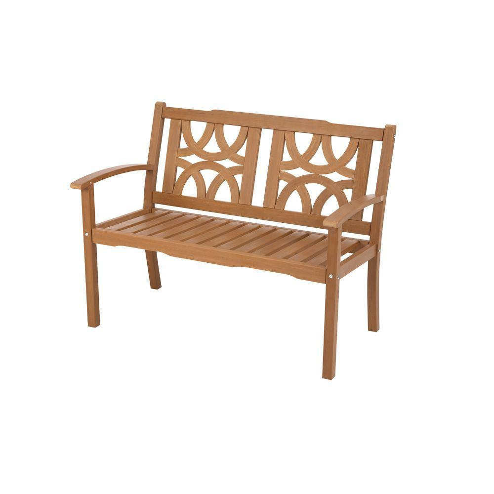 Martha Stewart Living Spring Lake Recyclable Wood Alternative Patio Bench-DISCONTINUED