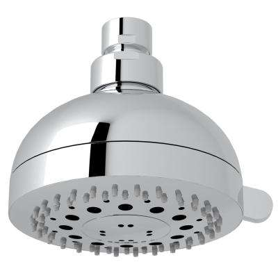 Rovato 3-Spray 4 in. Fixed Showerhead in Polished Chrome