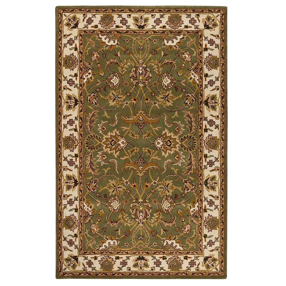 home decorators collection constantine sage 4 ft x 6 ft