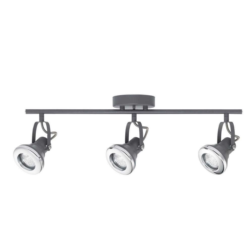 track lighting replacement. 3-Light Gray And Chrome Halogen Track Lighting Kit Track Lighting Replacement E