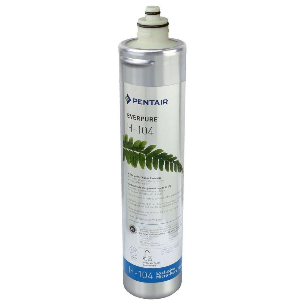 H-104 Under Sink Replacement Water Filter Cartridge