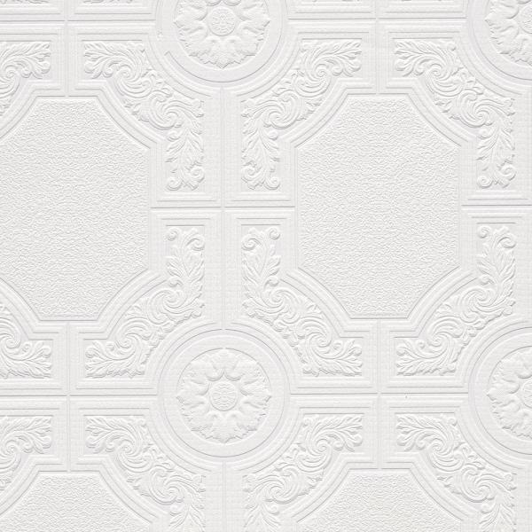 Norwall Architectural Panels Paintable Wallpaper