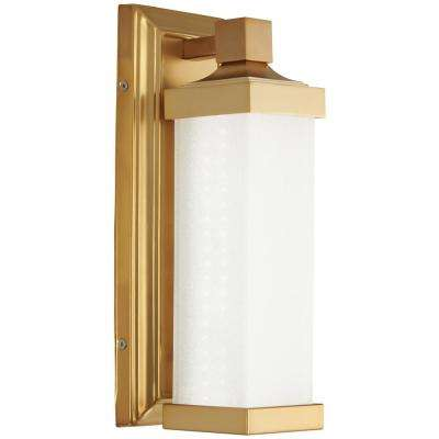 60-Watt Equivalence Liberty Gold Integrated LED Sconce