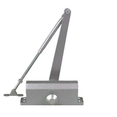 Residential/Light Duty Commercial Door Closer in Aluminum - Size 2